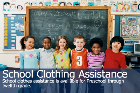 School Clothing Assistance